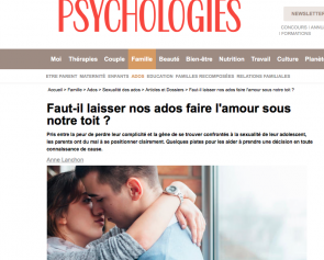 © image capture d'écran Psychologies.com