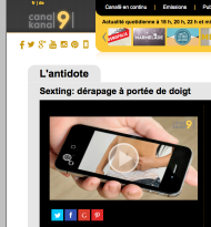 Sexting, canal9